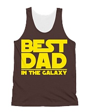 best dad in the galaxy All-over Unisex Tank front