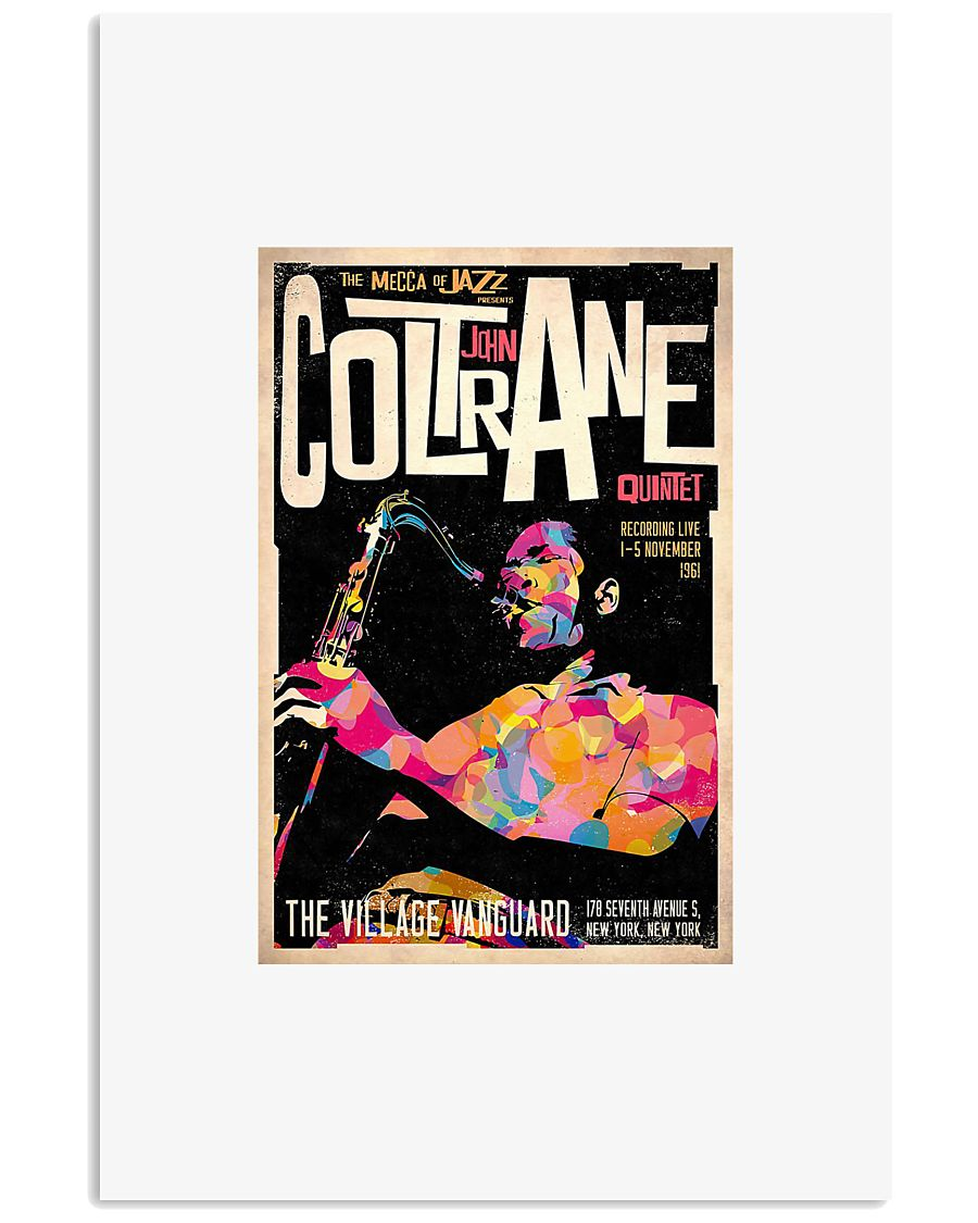 The mecca of Jazz coltrane poster 11x17 Poster
