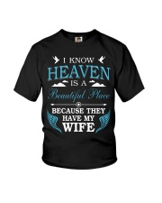 I know heaven is a beautiful place because they ha Youth T-Shirt thumbnail