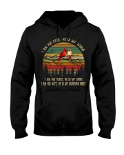 Bird I am his eyes he is my wings i am his voice Hooded Sweatshirt thumbnail
