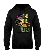 This girl loves Jesus shirt Hooded Sweatshirt thumbnail