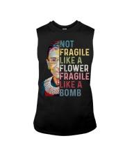 Not fragile like a flower fragile like a bomb Sleeveless Tee thumbnail