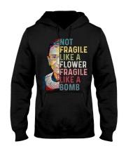 Not fragile like a flower fragile like a bomb Hooded Sweatshirt thumbnail