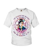 Mulan the flower that blooms in adversity is the Youth T-Shirt thumbnail
