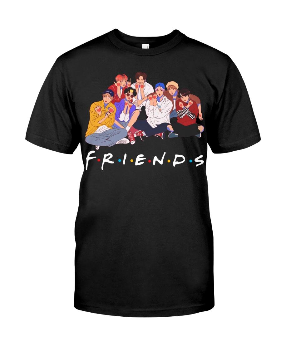 BTS Friends tv show shirt Classic T-Shirt