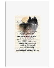 I took my love i took it down i climbed a mountain 11x17 Poster front