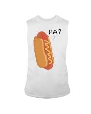 Hot dog cartoon HA  Sleeveless Tee thumbnail