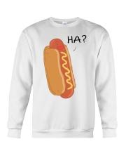 Hot dog cartoon HA  Crewneck Sweatshirt thumbnail