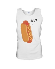 Hot dog cartoon HA  Unisex Tank thumbnail