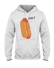 Hot dog cartoon HA  Hooded Sweatshirt thumbnail