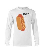 Hot dog cartoon HA  Long Sleeve Tee thumbnail