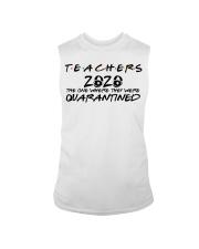 Teachers 2020 the one where they were quarantined  Sleeveless Tee thumbnail