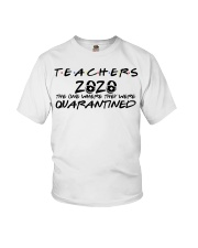 Teachers 2020 the one where they were quarantined  Youth T-Shirt thumbnail