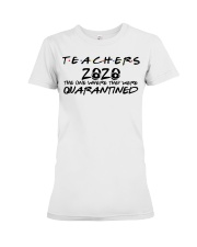Teachers 2020 the one where they were quarantined  Premium Fit Ladies Tee thumbnail