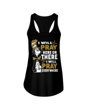 Dr seuss i will pray here or there i will pray Ladies Flowy Tank thumbnail