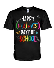 Happy days of school shirt V-Neck T-Shirt thumbnail