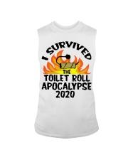 I survived toilet roll apocalypse 2020 shirt Sleeveless Tee thumbnail