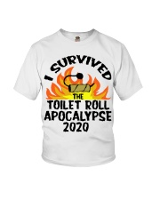 I survived toilet roll apocalypse 2020 shirt Youth T-Shirt thumbnail