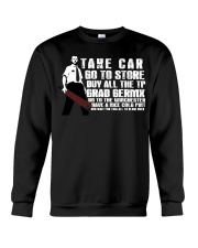 Take car go to store buy all the TP Crewneck Sweatshirt thumbnail