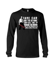 Take car go to store buy all the TP Long Sleeve Tee thumbnail