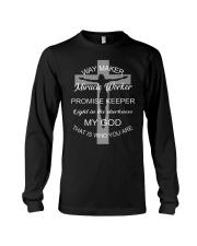 Jesus way maker miracle worker promise keeper Long Sleeve Tee thumbnail