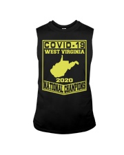 Covid 19 west virginia national champions 2020 Sleeveless Tee thumbnail