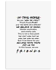 Friends tv show in this house we say how you doin  11x17 Poster front