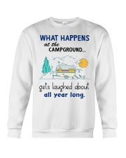 What happens at the campground gets laughed about  Crewneck Sweatshirt thumbnail