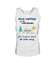 What happens at the campground gets laughed about  Unisex Tank thumbnail