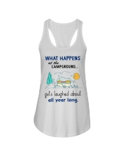 What happens at the campground gets laughed about  Ladies Flowy Tank thumbnail