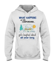 What happens at the campground gets laughed about  Hooded Sweatshirt thumbnail