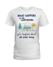 What happens at the campground gets laughed about  Ladies T-Shirt thumbnail
