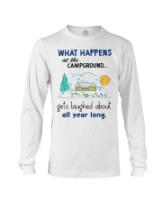 What happens at the campground gets laughed about  Long Sleeve Tee thumbnail
