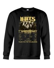 BTS 7th anniversary signatures shirt Crewneck Sweatshirt thumbnail