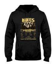 BTS 7th anniversary signatures shirt Hooded Sweatshirt thumbnail