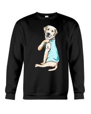 Golden Retriever i love mom tattoo shirt Crewneck Sweatshirt thumbnail