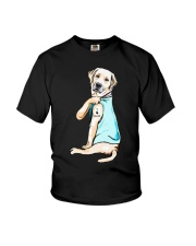 Golden Retriever i love mom tattoo shirt Youth T-Shirt thumbnail