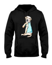Golden Retriever i love mom tattoo shirt Hooded Sweatshirt thumbnail
