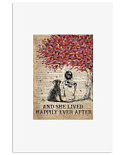 Girl and dog and she lived happily ever after post 11x17 Poster front