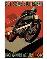 Biker Excitement 24x36 Poster front