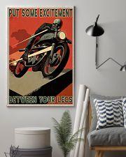 Biker Excitement 24x36 Poster lifestyle-poster-1