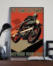 Biker Excitement 24x36 Poster lifestyle-poster-2