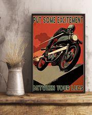 Biker Excitement 24x36 Poster lifestyle-poster-3