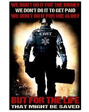 EMT poster 11x17 Poster front