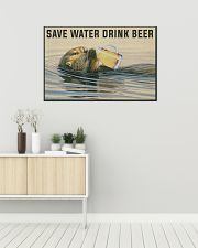Save Water Drink Beer 36x24 Poster poster-landscape-36x24-lifestyle-01
