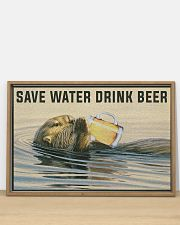 Save Water Drink Beer 36x24 Poster poster-landscape-36x24-lifestyle-03