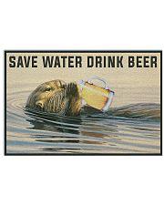 Save Water Drink Beer Horizontal Poster tile