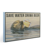 Save Water Drink Beer Gallery Wrapped Canvas Prints tile