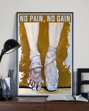 Ballet No Pain No Gain 11x17 Poster lifestyle-poster-2
