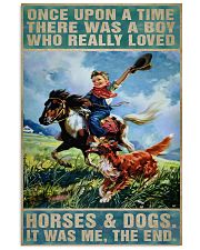 horse poster 11x17 Poster front